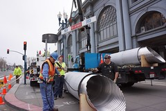 Port's 150 Year Birthday 4-2013 (daver6sf@yahoo.com) Tags: pylons portofsanfrancisco ironworkers theferrybuilding