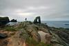 Dinosauri (Wrinzo) Tags: ocean uk sea sky scotland rocks europa europe nuvole mare arch north cliffs stack atlantic cielo rocce arco nord oceano scogliere atlantico scogli unst scozia coud shetlandislands isoleshetland dagaadastack