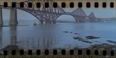 7. Bridge (steveo_mcg) Tags: bridge colour film rail forth 200 vista panorma agfavista rb67