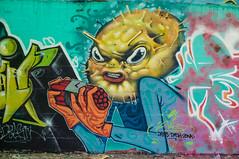 La Fabrica - 34 (r2hox) Tags: graffiti urbanart santiagodecompostela arteurbano abandonedspaces