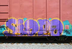 Signo (Sk8hamburger) Tags: railroad art train painting graffiti paint tag rr zee boxcar graff piece oi tagging freight amfm signo phame paint spray