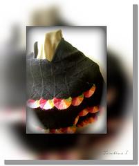 Rainbow patchwork shawl. (tarelkaz1) Tags: macro crazy knitting memories shawl patchwork handknitting topshots photosandcalendar folkknitting sonydscs730 theoriginalgoldseal mygearandme ipiccy
