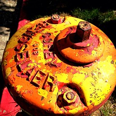 Fiery Hydrant (Scott..?) Tags: california firehydrant grassvalley procamera photogene iphoneography iphone4s