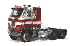 GMC 002 (Dovedale Derby) Tags: truck jimmy lorry convoy gmc meccano cabover tractorunit