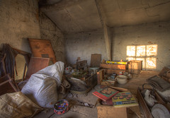 'Packing up to leave' (Timster1973 - thanks for the 9 million views!) Tags: morning light house colour abandoned rotting sunrise canon early decay packing earlymorning things explore forgotten urbanexploration aged items residence exploration residential derelict abandonment hdr highdynamicrange decayed decaying ue urbex photomatix forgottenthings urbanwandering residentialurbex hdrurbex