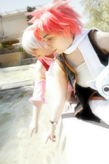 Fairy Tail Cosplay (cara_cuervo) Tags: barcelona cosplay tail fairy strauss saln natsu cmic crossplay 2013 lisanna dragneel
