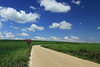 Windows Xp home screen .... the Domokos way (Simos1968) Tags: road bluesky cannon whiteclouds greenfields magentaplant simos1968