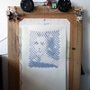 Grace Kelly in spirals (Euphy) Tags: art geometric circle spiral robot drawing patterns grace kelly interference arduino polargraph