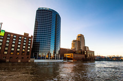 GRAND RAPIDS FLOOD 2013-1410 (RichardDemingPhotography) Tags: flooding flood michigan grandrapids grandriver grandrapidsmichigan floodwater westmichigan downtowngrandrapids puremichigan flood2013 michiganflooding grandrapidsflood