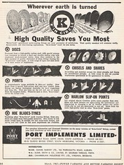 Port Implements 1961 (Runabout63) Tags: port point advert chisel share implenents