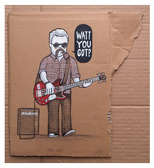 Mike Watt (Philip Morgan) Tags: mike illustration phil bass rad hell player morgan minutemen firehose watt the 2013