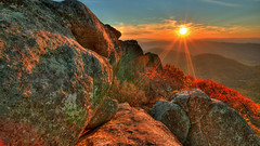 0 (32) (east boy2013) Tags: sunset sun mountain nature rock sunrise virginia boulder valley blueridgeparkway peaksofotter