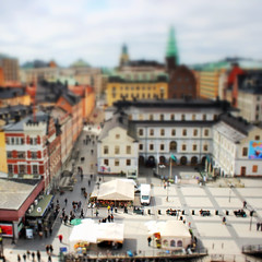 Stockholms stadsmuseum (frisch-luft.ch) Tags: city urban miniature model sweden stockholm scandinavia tiltshift faketiltshift canon600d