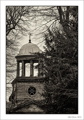 Wallington Hall Palladian (Seven_Wishes) Tags: blackandwhite northumberland toned nationaltrust palladian wallingtonhall canonef100400mmf4556lis canoneos5dmarkiii
