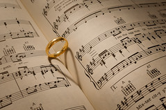 Music of Love (explored:) (Mad Eejit) Tags: wedding music love heart romance ring romantic beatles walrus