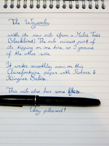 New nib for my Waverley pen