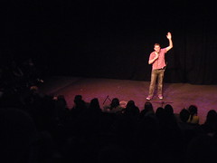 CC4K Udderbelly #1: Howard Read (Diamond Geyser) Tags: comedy comic gig southbank onstage comedian standup comedyfestival comedytent bighoward howardread udderbelly comedyclub4kids