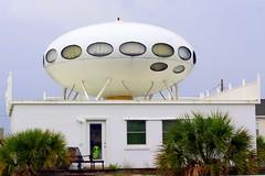 The Futuro - UFO House - Pensacola Beach, FL (SeeMidTN.com (aka Brent)) Tags: house home florida ufo spaceship fl roadsideamerica pensacola pensacolabeach futuro santarosaisland us98 mattisuuronen bmok futuroii oypolykemab bmokhome