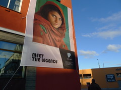 [Nordic Light International Festival of Photography] (Lise Utne) Tags: kristiansund afghangirl stevemccurry nordiclight kristiansundnorway nordiclightinternationalfestivalofphotography liseutne meetthelegends