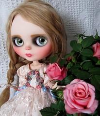 Tasha and roses
