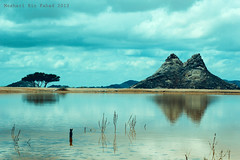 Reflection (meshari bin fhd) Tags: mountain reflection tree rain clouds landscape photography