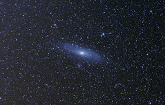 M31 - The Andromeda Galaxy Widefield v2 (iksose7) Tags: canon stars 50mm long exposure space andromeda galaxy astrophotography m31 astronomy f18 1100d Astrometrydotnet:status=solved nightskyphotography Astrometrydotnet:version=14400 Astrometrydotnet:id=alpha20130531516921