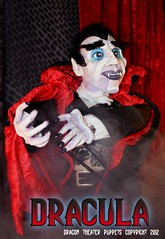Dracula (dragontheater) Tags: man halloween monster price kids wolf theater dragon vincent dracula puppets frankenstein monsters mummy creature pumplin egore