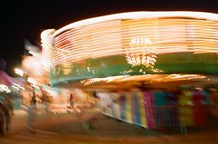 zero gravity (EllenJo) Tags: longexposure carnival arizona fairgrounds nikon fair cottonwood nikonfm10 fujifilm carnivalride slowexposure may3 nikonslr verdevalleyfair ellenjo ellenjoroberts springtimeinarizona fuji200speed may2013
