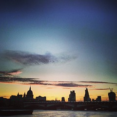 one morning (auketts) Tags: square lofi stpauls squareformat stpaulscathedral iphoneography instagramapp uploaded:by=instagram foursquare:venue=4d8f3fd46174a093edbad9e3