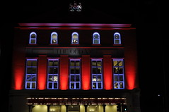 The Old Vic theatre, London (horstg1) Tags: street city building london night theatre culture illuminated arcitecture oldvic