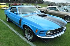 3. 1970 Ford Boss 302ci Shaker Mustang (70_musclecar_RT+6) Tags: dunedin carshow 2012allamerican