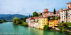 ...and spring was beginning to show downtown.. (Jordi AC) Tags: italy vicenza bassanodelgrappa