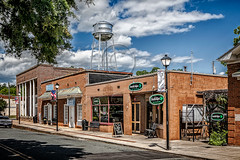 Waxhaw, NC - Southsiders and Water Tower (Eric Gaddy) Tags: pub downtown watertower northcarolina historic waxhaw publichouse southsiders oakfieldestatephotography michaelryanrealty
