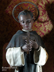 Saint Martin de Porres (fajjenzu) Tags: sculpture church statue architecture faith religion malta altar christianity sliema nazarene mainaltar jesusofnazareth saintmartindeporres jesusthenazarene