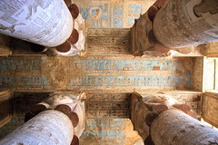 Dendera Temple, Dendera, Qena, Egypt (Andy_Hartley) Tags: temple egypt colourful ancientegypt ancientegyptian dendera denderatemple qena