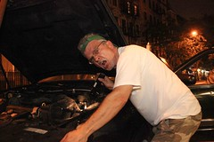 East Village Car Fix (TheJonCrane) Tags: nyc newyorkcity nightphotography eastvillage night real streetphotography popular alphabetcity featured realpeople capturedmoments