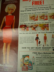 Mary Make up (lexiechan) Tags: make up museum doll character mary research american archives catalogs tressy ufdc