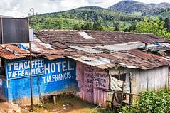 Time For Tiffen? (gecko47) Tags: india gudalur tamilnadu hotel teahouse tiffin chickenstall landscape hills tiles corrugatediron