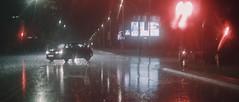 Rainy Night #3 (tomasz.cc) Tags: road camera city cinema reflection car rain night lights poland lightning pocket cracow slippery thunder blackmagic bmpcc