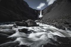 Hengifoss (Marco Battini) Tags: iceland waterfall hengifoss water rocks leefilters polarizer 09neutraldensity river