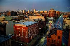 Hoboken Sunset 7/25/16 (David Pirmann) Tags: hoboken nj newjersey sunset