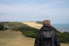 Walking (My photos live here) Tags: hastings east sussex england grass cliffs tops english channel sea canon eos 1000d