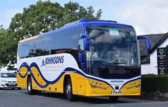 YX16NYB  Johnsons, Henley in Arden (highlandreiver) Tags: gretnagreen yx16nyb yx16 nyb johnsons coaches henley arden plaxton bus coach scotland scottish