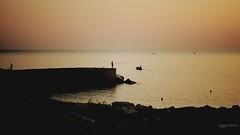 Afterglow @ Vergine Maria (Angelo Trapani) Tags: mare luci costa colori afterglow verginemaria palermo alba tramonto atmosfera barche pescatori molo scogliera spiaggia pesca sea