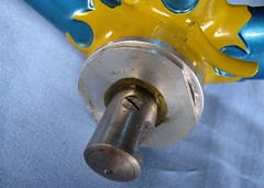 Harden Sealed Cottered BB (moonm) Tags: bikes uk 531 classic cycling frame lugs steel vintage