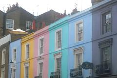 (mistigree) Tags: londres portobello portobellomarket nottinghill faade couleur multicolore