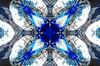 kaleidoscope (87) (lisafree54) Tags: blue white four quarter quarters kaleidoscope design pattern geometric background free freephotos cco