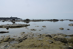 (Jia  ) Tags: sea rock coast blue gf2 panasonic taiwan taipei water         landscape