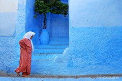 The Streets of Chefchaouen. (Photographing_The_World) Tags: morocco marokk travel travelphotography arabic africa muslimcountry culture wanderlust explore people northafrica moroccan moroccanculture moroccancolors moroccancolours moroccanpeople africanpeople discovermorocco exploremorocco marrakesh marrakech fes fez agadir asilah essaouira merzouga sahara maroc chefchaouen colors travelphotos arabicculture arabicpeople travelblog muslimpeople muslimculture diversity multicultural locals locallife moroccanlifestyle moroccanlife medina streetsofchefchaouen shadesofblue blueshades
