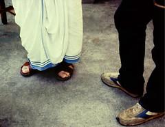 S25 web_feet of a saint_0401-1 (kcadpchair) Tags: motherteresa kalighat kolkata missionariesofcharity stteresaofcalcutta calcutta